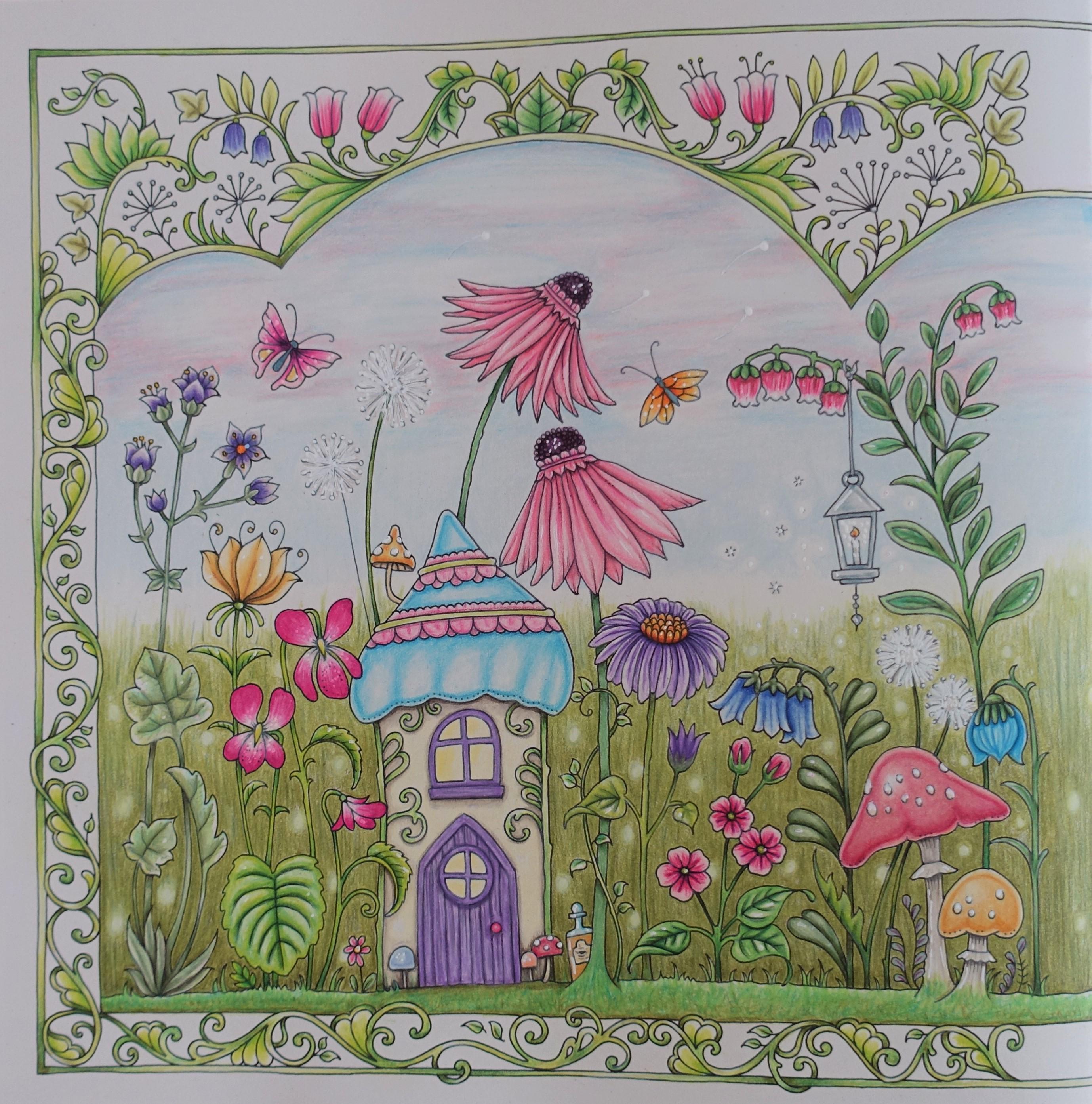 COMPLETED Secret Garden (Johanna Basford) - YouTube | 2787x2757